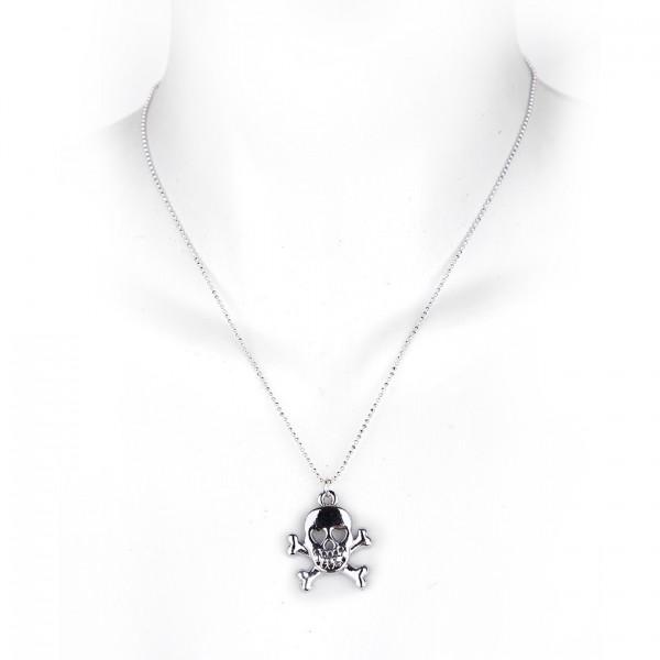 Sweet Skull Metall Halskette