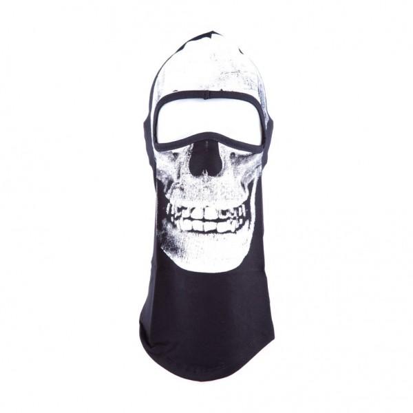 Röntgen Totenschädel X-Ray Biker Sturmmaske