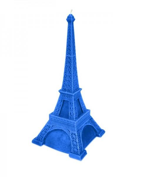 Blaue Große Eiffelturm Kerze