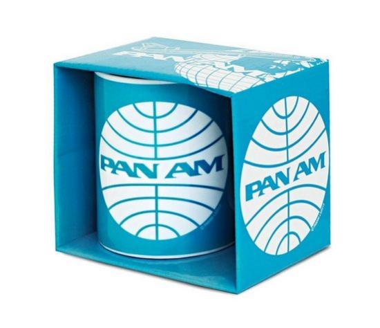 Kafeebecher mit Airline Aufdruck Pan Am ca.300ml