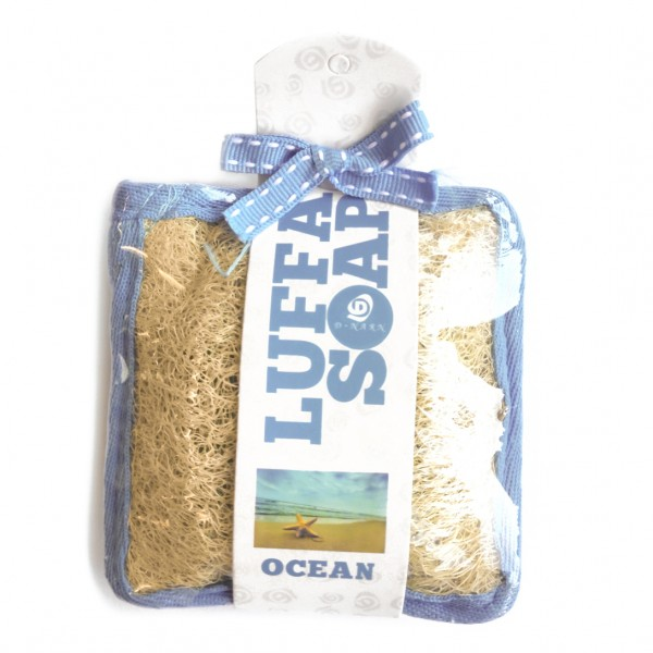 Schwamm inkl. Seife Soap handmade Thailand body scrub Ocean Duft