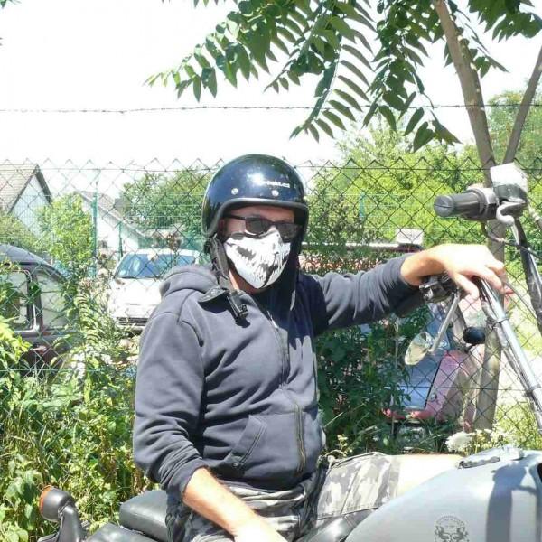Neopren Raptor Biker Maske