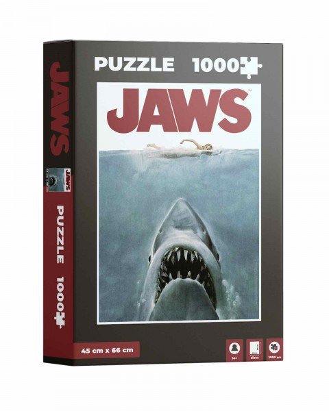 JAWS Film Poster Puzzle 1000 Teile