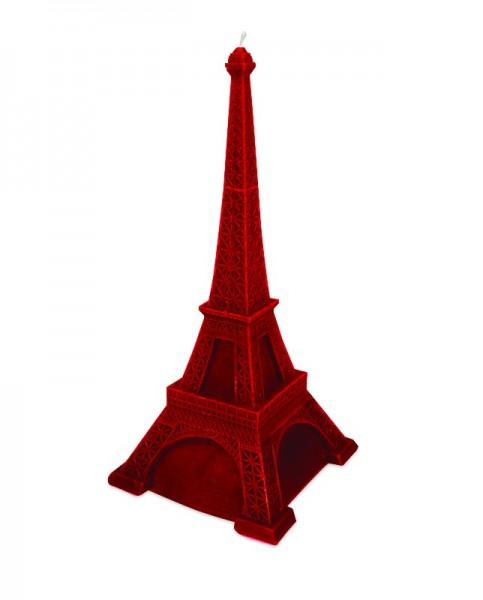 Eiffelturm Kerze Bordeaux
