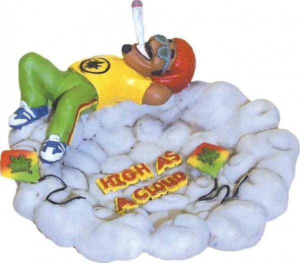 High as a Cloud Marihuana Aschenbecher