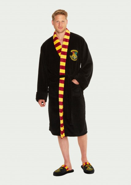Harry Potter Hogwarts Herren Bademantel