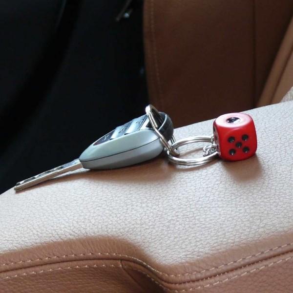 Würfel Schlüsselanhänger