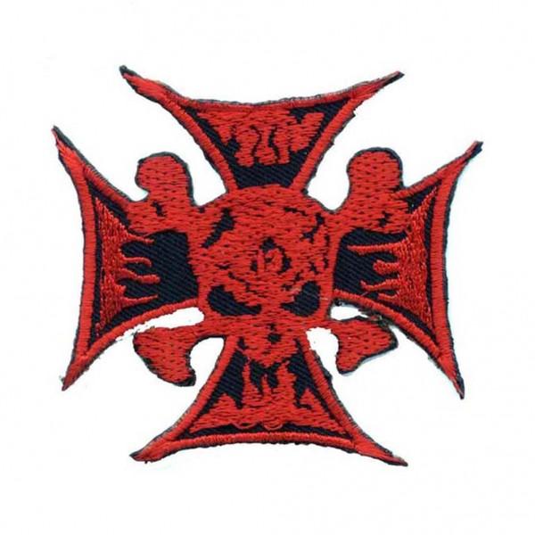 Iron Cross Totenkopf Patch