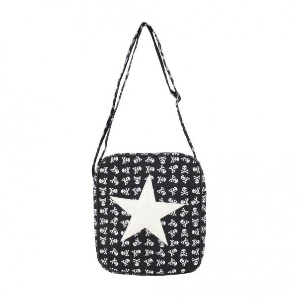 Messenger Tasche mit Weißem Stern
