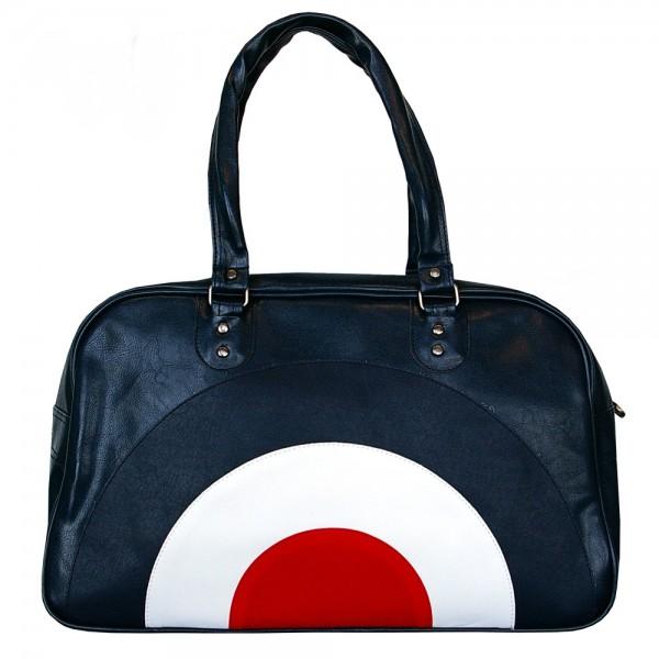 Blaue Reise Tasche im Mood Style