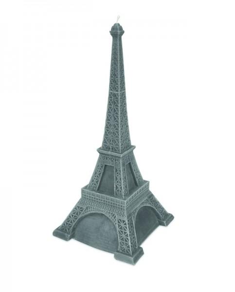 Graue Eiffelturm Dekorations Kerze
