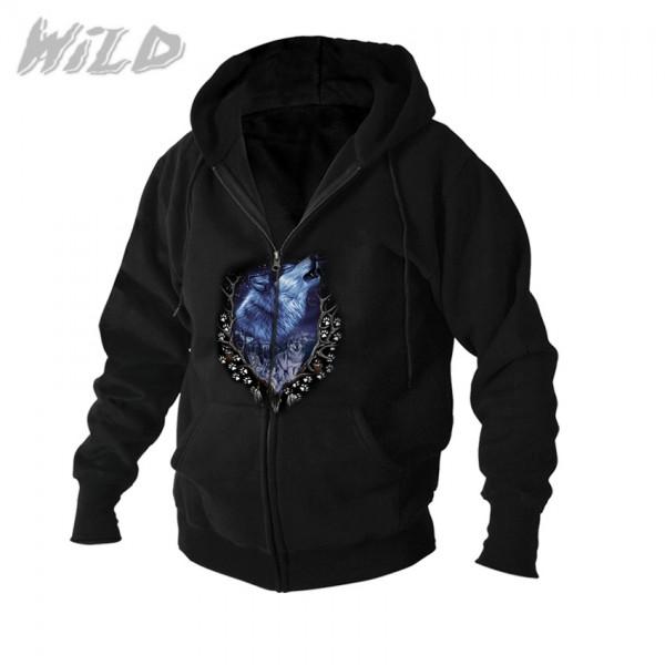 Wild Hoodie Jacke Howlin Wolf