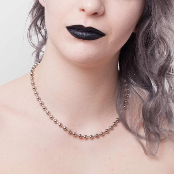 Damen Perlen Halskette