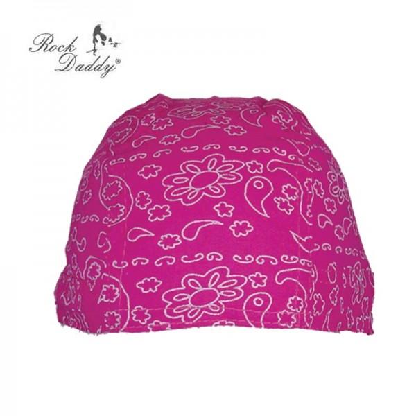 Paisley Ladies Pink Sommer Kopftuch