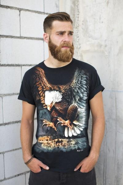 Wild T-Shirt Jagender Adler