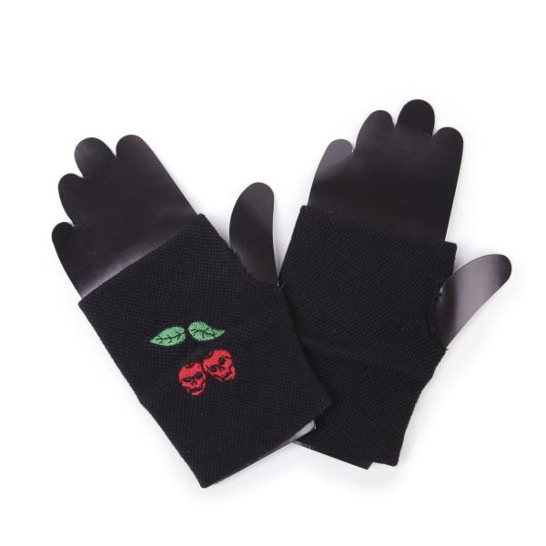 Fingerlose Handschuhe Death Kirschen Design