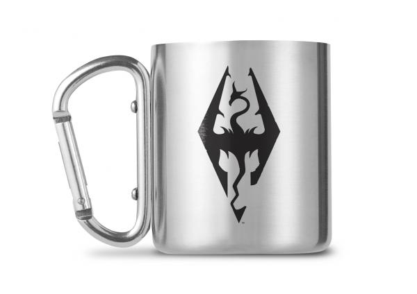 Skyrim Carabiner Metall Tasse Mug