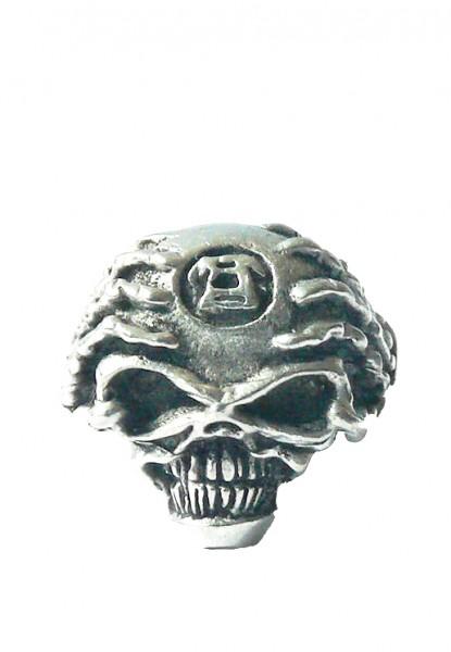 Geschockter Totenkopf Ring