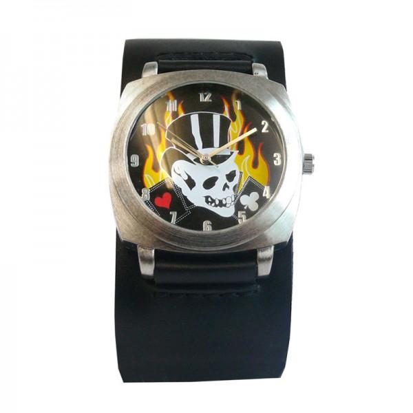 Skull Gambler Armbanduhr