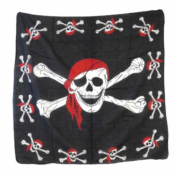 Piraten Totenkopf Halstuch