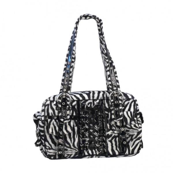 Zebra Fell Corsagen Weekender Handtasche