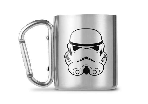 Star Wars Stormtrooper Carabiner Metall Tasse Mug