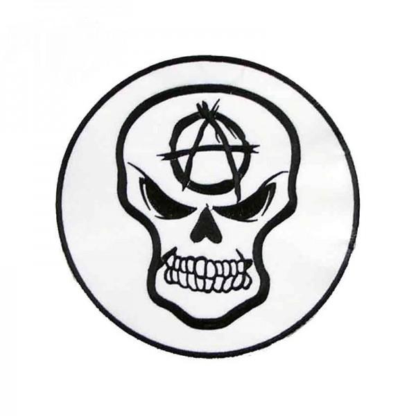 Anarchy Skull Aufbügler XXL Rund