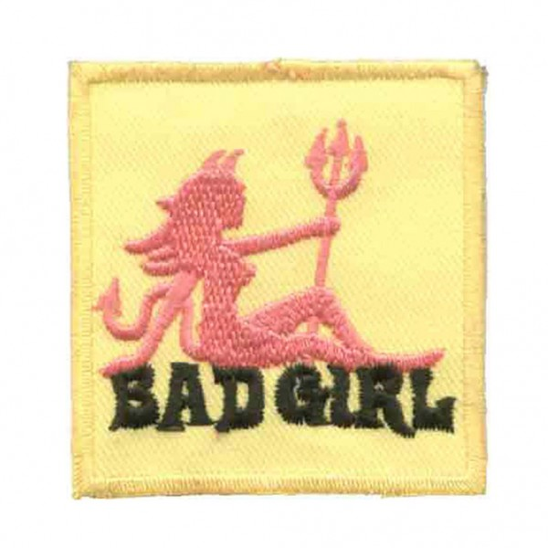 Bad Girl Teufel Patch