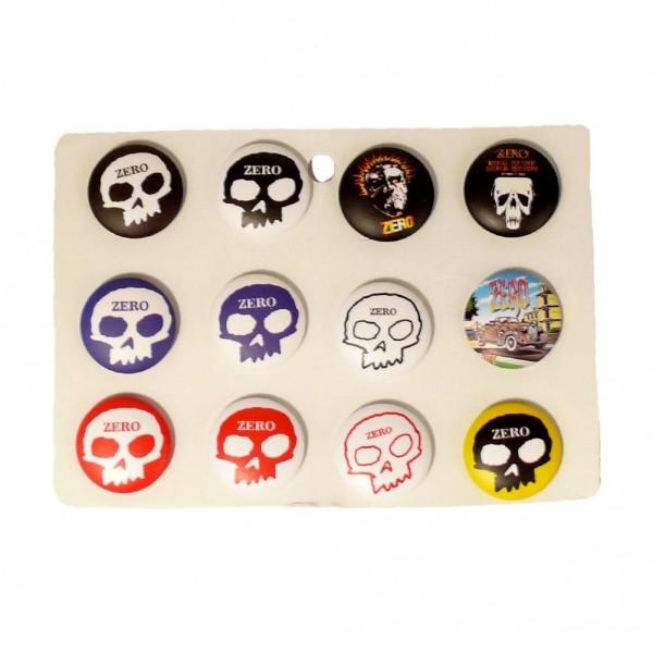 ZERO Totenkopf Button Display Gemischt