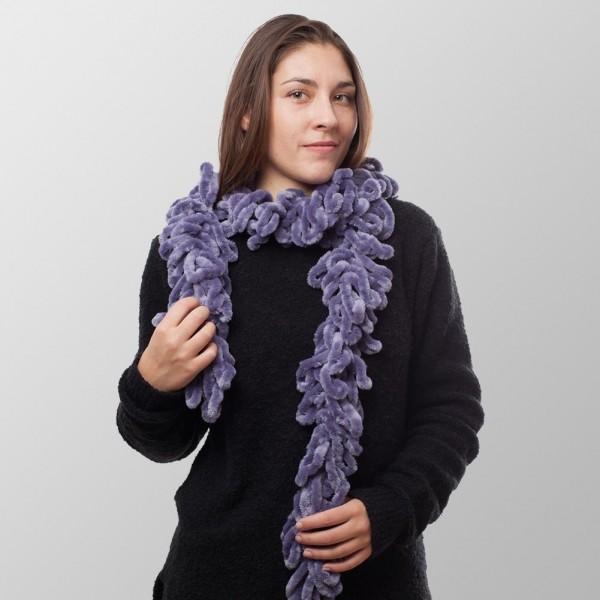 Boa Purple Deluxe Winterschal für Damen