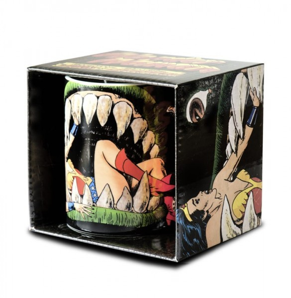 Wonder Woman the Monster Jaws Kaffeebecher ca. 300ml