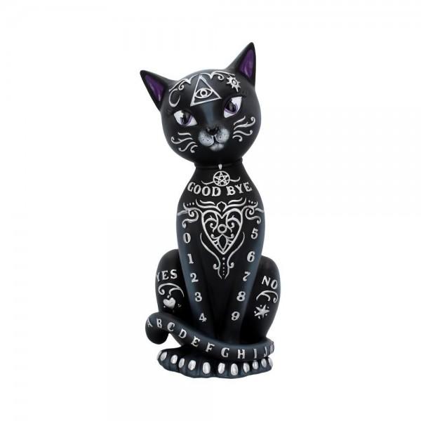 Mythische Occult Katze Figur schwarz 26cm