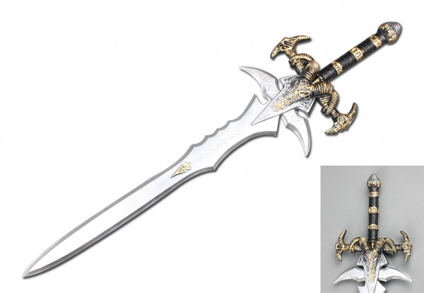 Longhorn Warrior LARP Anime Cosplay Schwert