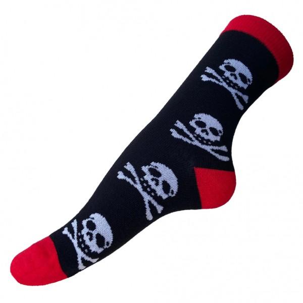 Jolly Roger Totenkopf Skull Socken Unisize