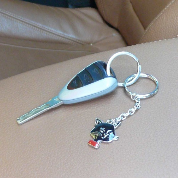 Schlüsselanhänger Katze