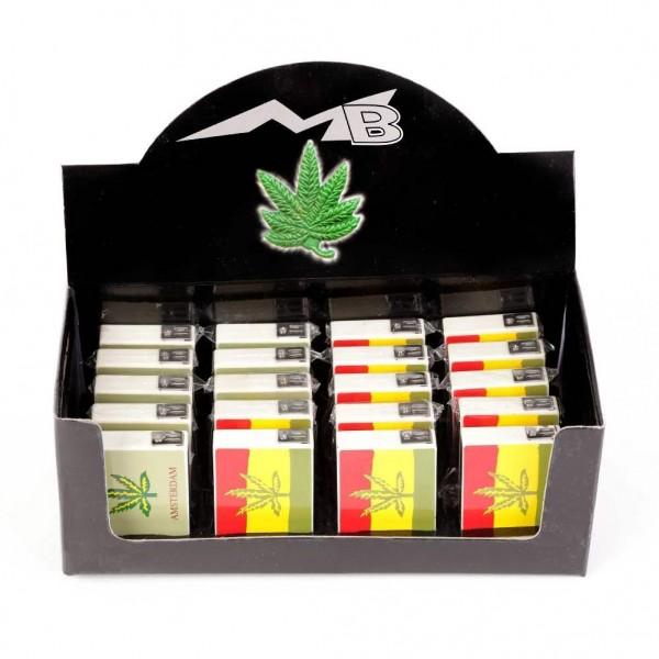 Marihuana Feuerzeuge im Display