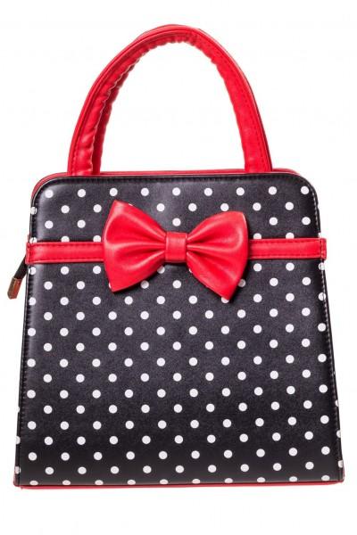 Banned Vintage Handtasche Polka Dots