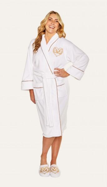 Fwooper Fantastic Beasts Bademantel Fleece Robe women