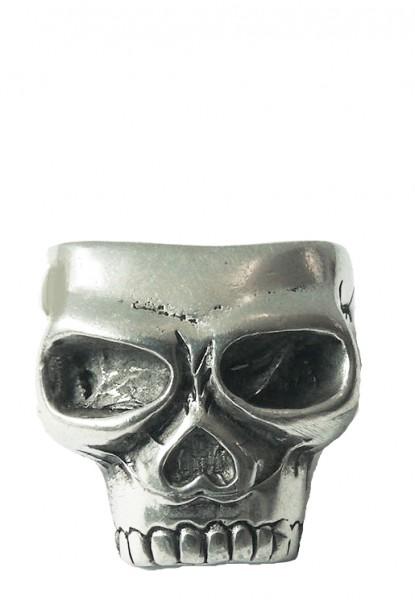 Großer Totenkopf Ring