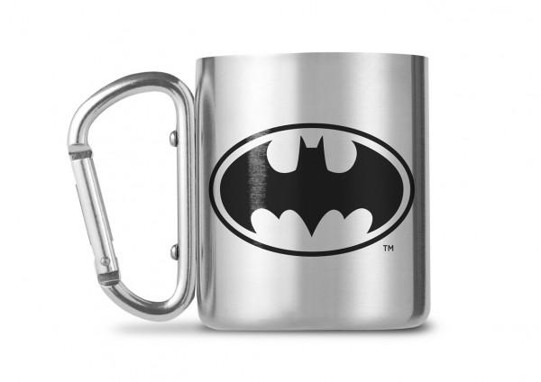 DC Comics Batman Carabiner Metall Tasse Mug