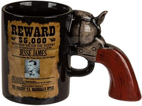 Wild Wild West Revolver Tasse ca. 300ml