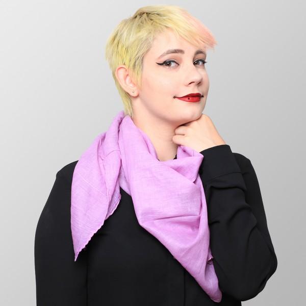 Baumwolltuch in Hellem Pink