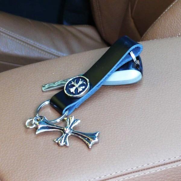 Französisches Kreuz Schlüsselanhänger
