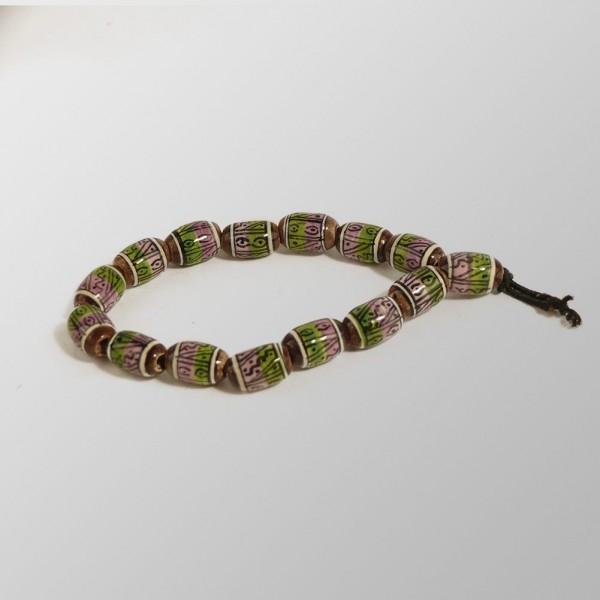 Handgemachtes Peruanisches Keramik Armband