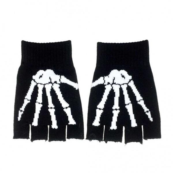 Skelett Handschuhe im Knochen Weißen Design