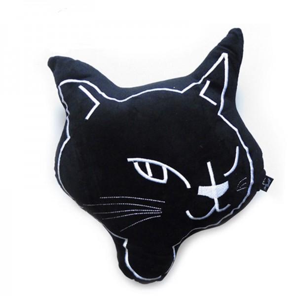 Rockabilly Kitty Cat Schmusekissen