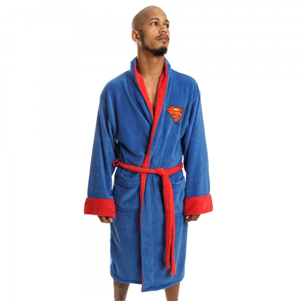 Superman DC Comics Bademantel Fleece Robe
