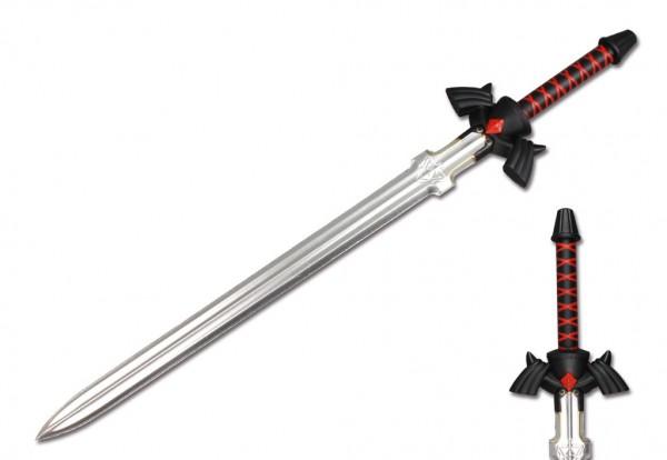 Schwarzes Master Larp Schwert