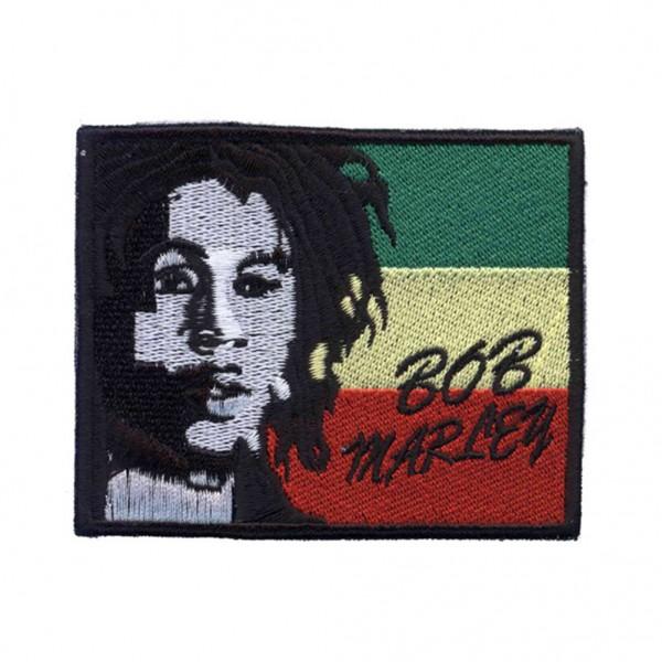 BOB Marley Rasta Patch