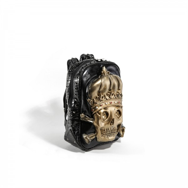 Premium 3D King Skull Rucksack